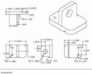 2D Mechanical Drawings | Fayzan Asad
