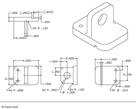 mechanical drawings fayzan asad