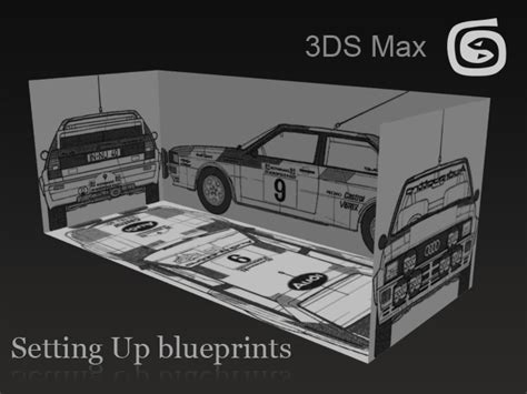 home design blueprints setup blueprints in 3ds max 3dm3 com