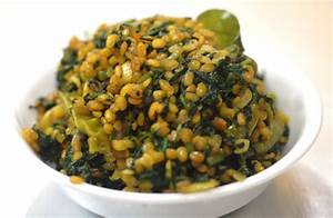 palak moong dal fry,Spinach Moong Dal vahrehvah