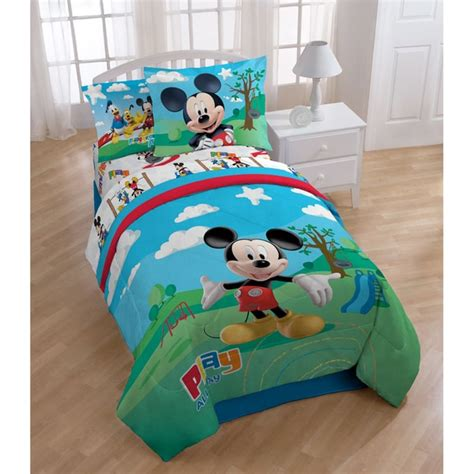 Mickey Mouse Bedding Set by Mickey Mouse Clubhouse 8 Bed In A Bag With Sheet Set