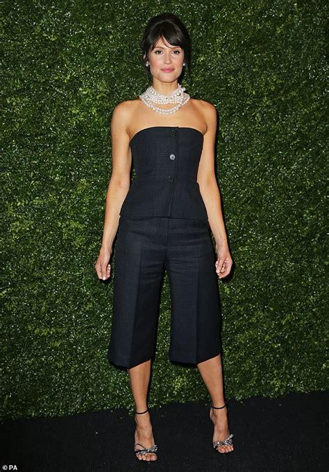 Gemma Arterton arrives for Chanel's pre-BAFTAs 2020 party ...