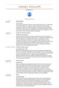 youth worker resume exles youth worker resume sles visualcv resume sles database