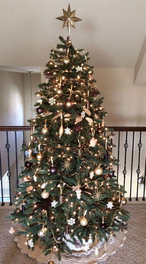 decoracion de arboles con cinta decoraci 243 n de 225 rboles de navidad 2018 2019 208 ecoraideas