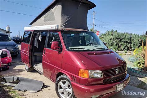 volkswagen westfalia motor home camper van rental