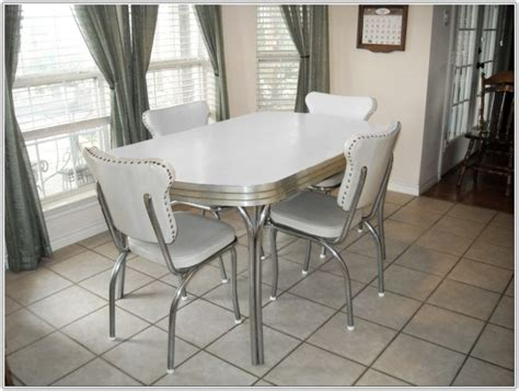 retro kitchen table chairs chair home furniture ideas