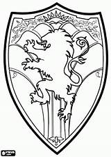 Narnia Coloring Shield Pages Chronicles Medieval Lion Wardrobe Witch Peter Arms Coat Template King Printable Embroidery Colouring Printables Designs Drawings sketch template