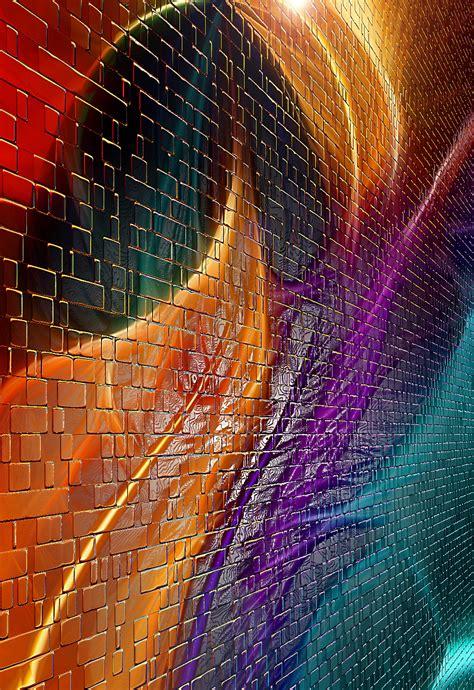 images light wave plane decoration pattern