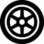 Wheel Icon Svg Tyre Kawasaki Transport Eps