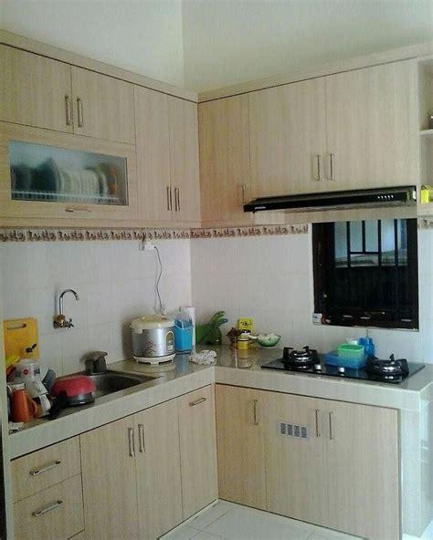 kitchen set minimalis dapur minimalis idaman