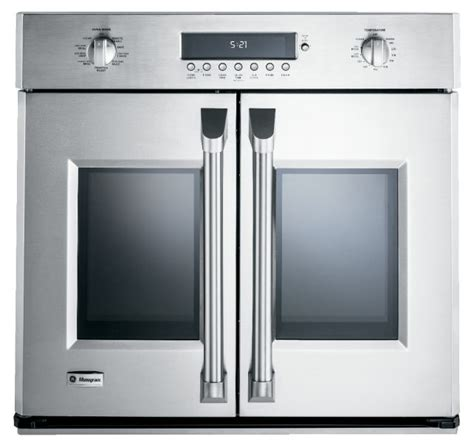 ge announces  monogram zetfhss french door wall oven reviewedcom ovens