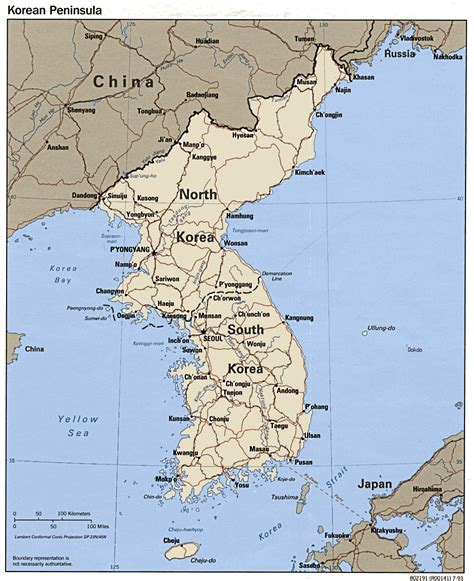 map  korea  printable maps