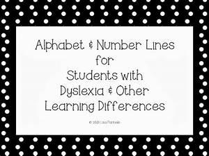 special alphabet number line for dyslexia a special With dyslexia alphabet letters