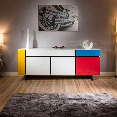 Coloured Sideboards by How To Fit A Colored Sideboard In Neutral Dining Areas