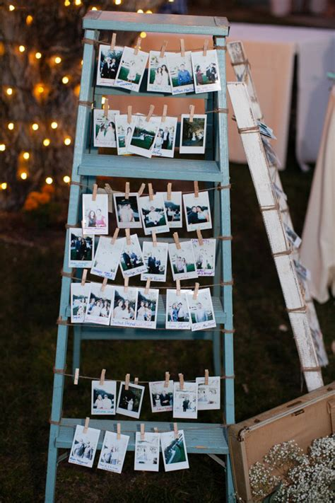 perfect wedding decoration ideas  vintage ladders