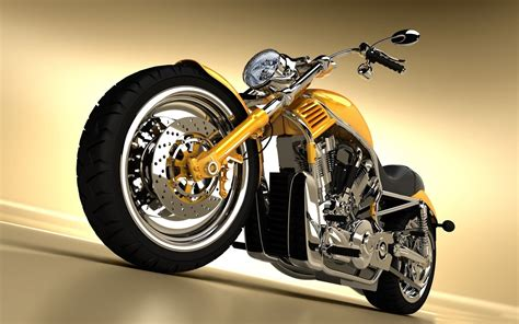 Motorcycle 3d-very Cool Motorcycle Wallpaper View