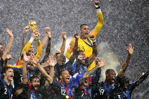 Top The World France Wins Cup Kut