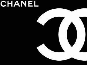 Chanel Logo Black - wallpaper.