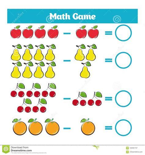 mathematics educational game  children learning