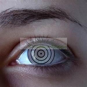 Custom Cheap Naruto Rinnegan Sharingan Contact Lenses In ...
