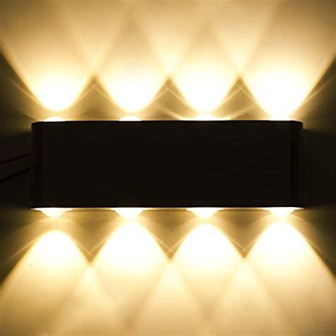 dasinko modern 8w led up down wall sconce lighting