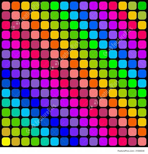 color square color square tiles pattern