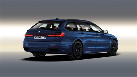 Bmw Wagon 2020 by 2020 Bmw 7 Series Facelift Imagined As Wagon And Cabrio