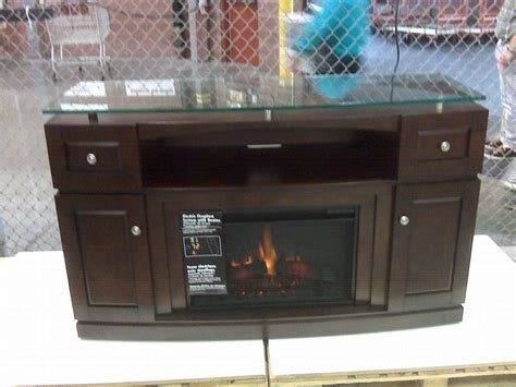 TV stand with Electric fireplace.   For the Home
