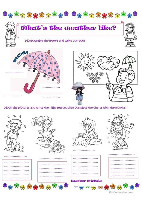 what s the weather like colouring worksheet worksheet free esl printable worksheets made by