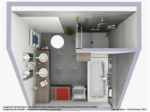 Plan 3d Salle De Bain : logiciel 3d salle de bain gratuit logiciel 3d salle de ~ Melissatoandfro.com Idées de Décoration