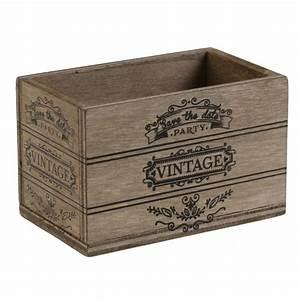 Cagette Bois Deco : cagette vintage en bois d co et drag es les 10 achat d coration ~ Teatrodelosmanantiales.com Idées de Décoration