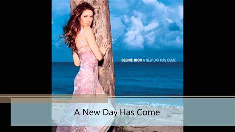 Celine Dion Songs/ Singles History (english Studio Albums