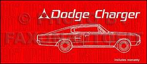 1967 Charger Wiring Diagram Manual Reprint