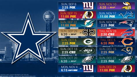 dallas cowboys  schedule   early winloss game
