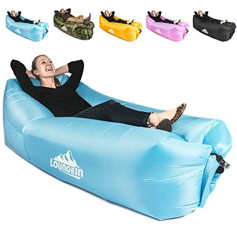 kyrush  inflatable lounger air couch chair sofa pouch lazy hammock blow  bag lounge