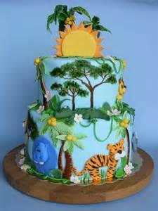 jungle theme baby shower cake jungle cake happy 9th bday viara историята на