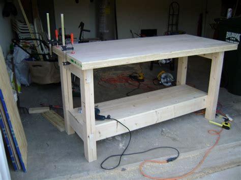 plywood work table plans plans diy