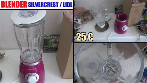 quigg de cuisine blender silvercrest lidl ssm 550 d1 bol en verre test avis