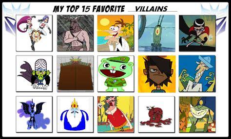 My Top 20 Favorite Villains By Cartoonstar92 On Deviantart