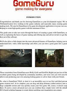 Game Guru Getting Started Guide