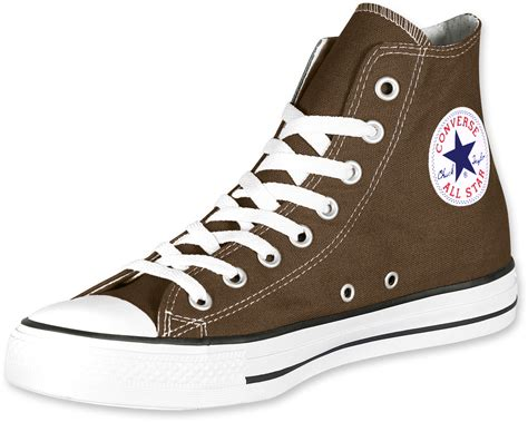 Converse All Star Hi Shoes Brown