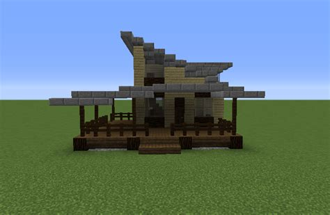 rustic modern house grabcraft  number  source