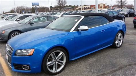2013 Audi S4 Supercharged audi s4 turbo supercharged convertible 2013