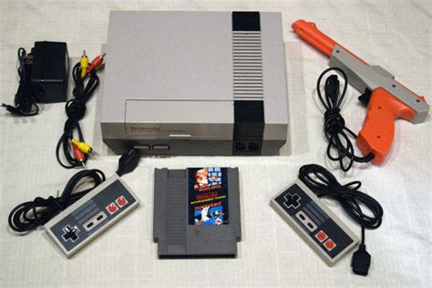 Nintendo Nes Console Video Game System Complete Super