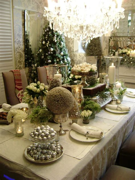 dining room set exles with christmas centerpieces for dining table christmas decorating ideas room clipgoo