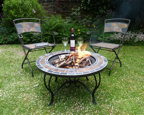 Funchal Mosaic Fire Pit Table