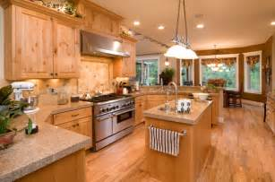 Slanted Ceiling Lighting by 49 Contemporary High End Natural Wood Kitchen Designs
