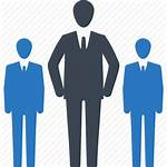 Icon Team Leader Business Leadership Management Icons