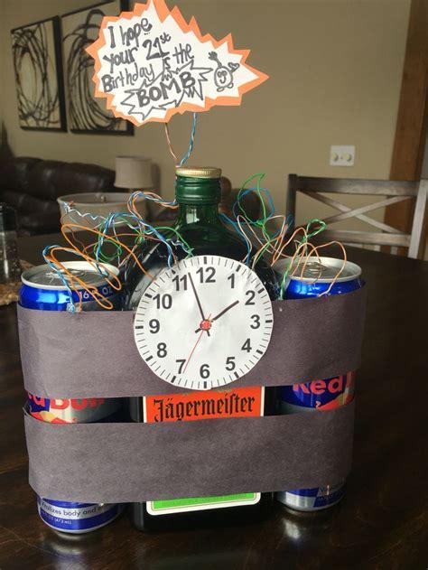 boyfriends st birthday idea jaeger bombs creative