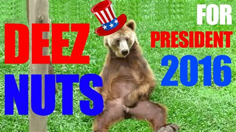 deez nuts  president  presidential race poll youtube